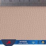 Tessuto di cuoio stampato PVC opaco con Nizza il reticolo di Lichee per le borse
