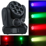 Mini Wash Moving Heads LED 10W 7PCS