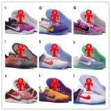 Mensen Kobe 11 Basketbalschoenen Kobe Xi van de Dag van Em Mamba Zk11 Aec het Lage Zwarte Goud van Laarzen 865773-991 van de Schoenen van de Atletieksport van de Elite met Doos