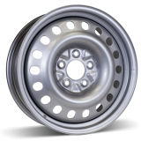 (5-112) серебряная оправа колеса автомобиля 15X6.5