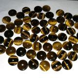 Monete di cristallo naturali di Amethhst della pietra preziosa con il foro