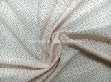 Tela Funcional 100% Poli, 130GSM, Tecido Jersey com tricô com anti-microbiana para tecido desportivo