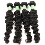Волосы Weave Remy оптовой бразильской толщиной скручиваемости девственницы глубокой бразильские людские