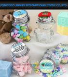 Baby-Dusche-Bevorzugungen personifizierten Teddybär geformte Glasgläser