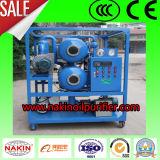 El doble de las etapas de aceite del transformador de vacío del filtrado de aceite purificador de planta de reciclaje