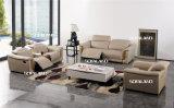 Самомоднейшая живущий установленная софа кожи мебели комнаты (422)