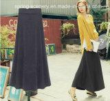 Halve kleding-Wollen Dress/Winter kleding-Dame Manier kleding-Vrouwen Kleren (D-103)