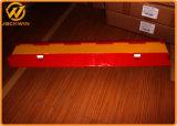 Vermelho e amarelo 2 canais de cabo plástico Ramp 1000*245*45mm