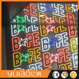 Cartas de neón hechas a mano para las muestras de la cerveza LED