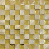 Mattonelle di mosaico di vetro metalliche del metallo della miscela di migliori prezzi della fabbrica
