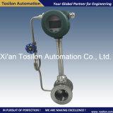 Compteur de débit Integrated de gaz de vortex pour la vapeur saturée