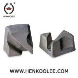 Piccolo abrasivo della magnesite del triangolo per la pietra del quarzo