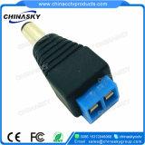 Connettore di corrente continua del CCTV con il terminale di vite blu (PC102BL)