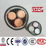 Het midden Koper van het Voltage of Kabel van de Macht van de Leider van het Aluminium de XLPE Geïsoleerde