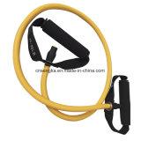 Los tubos de resistencia con asas para el ejercicio de Pilates fitness entrenamiento de fuerza