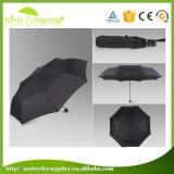 Metallo nero della volta di alta qualità 3 per l'ombrello impermeabile