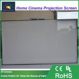 XyscreenのHK80b音Max2 150のインチ4Kの音響の透過固定わくの映写幕