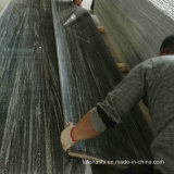 Nero pulidas losas de granito gris Santiago.