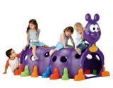 L'escalade intérieur Qunzhen Caterpillar jouer les enfants de la structure de l'équipement de terrain de jeu