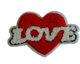 Kundenspezifische Form Chenile Embroiderypatch für Kleid (YB-pH-02)