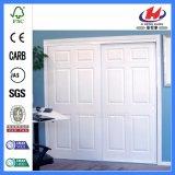 Moulage intérieur stratifié HDF glissant la porte en bois de tissu (JHK-006)