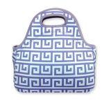 Emballage thermique de casse-croûte de femmes de cadres de déjeuner de sac de café de sac de déjeuner de pain du néoprène, logo de Custimized