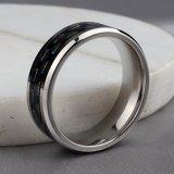De nieuwste Ringen van het Carbide van het Wolfram van de Ringen van de Manier van de Juwelen van de Groothandelsprijs van het Ontwerp