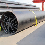 Tubi d'acciaio saldati spirale con lo standard di api 5L Psl1 Psl2 usato per il trasporto del gas di olio