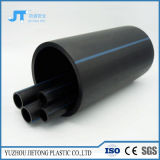Chinese Leverancier 110mm Flexibele HDPE van de Watervoorziening Pijpen