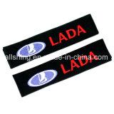 De Veiligheidsgordel van de Auto van Lada Behandelt de Polyester van het Paar van Schouderopvulsels