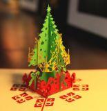 De vrolijke Kaarten van de Groet van de Verjaardag van de Verjaardag van de Minnaar van het Huwelijk van de Kaarten van Kerstmis 3D Gelukkige