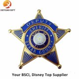 Alta calidad personalizada Insignia del logotipo de metal para la Policía
