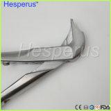 Materiale dentale del laboratorio la parte superiore rotta del morsetto della parte superiore che rimuove le pinze
