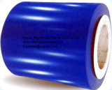 Bobine galvanisée enduite d'une première couche de peinture (Ral6027)