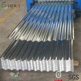 Tôle d'acier ondulée galvanisée plongée chaude pour la tuile de toiture en métal