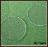 De duidelijke Optische CirkelPlaat van het Glas van het Kwarts van het Kiezelzuur