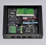 Ordinateur sans ventilateur Pfsense de réseau local de CPU 4 d'Intel Celeron J1900 mini