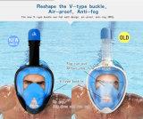 Volles Gesichtsnorkel-Schablonen-Antinebel eine 270 Grad-Ansicht gehen sporttauchen-Schablone PRO