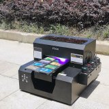 A4 Geval van de Telefoon van de Grootte het Digitale 3D In reliëf gemaakte UVPrinter voor Verkoop