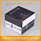 Jolie boîte cadeau artisanal de papier de la papeterie à l'emballage (FLO-go137)