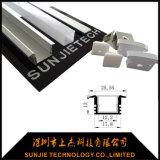 Vertiefte eingehangene IP65 imprägniern LED-Streifen-Aluminiumprofil für Fußboden