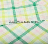 50+40DX50+40d teñido de hilados de algodón tejido camisa