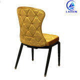 Оптовая торговля на заводе обеденный стул с удобными ткани подушки сиденья