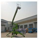 10 Meter hydraulische Schlussteil-hingen Hochkonjunktur-Mann-Aufzug mit Cer ein