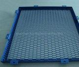 Blaue Farben-Aluminiumineinander greifen-Panel-Innenim freiengebrauch-Panel