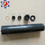 Rodillo de nylon del transportador de correa de la resistencia de desgaste