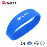 13.56MHz Wristband poco costoso del silicone RFID