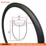 U форма Nextie Сверхлегкий 700c 38мм дорожного велосипеда Clincher углерода Wheelset легкосплавных колесных дисков
