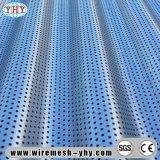 El panel perforado pintura del metal del PVC