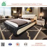 Base di legno del Headboard del cuoio della qualità superiore ultima per la camera da letto domestica